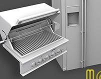 3D Architectural Elements: Appliances