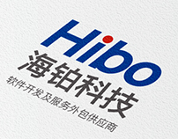 hibo  logo Business card