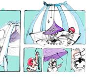 Miniparque Infantil Bocetos