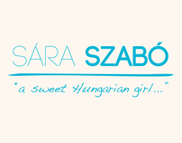 """Sára Szabó """"a sweet Hungarian girl..."""""""