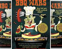 BBQ Wars Flyer Template