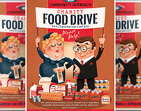 Charity Drive Flyer Template