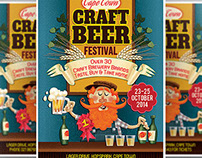 Craft Beer Flyer Template