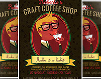 Craft Coffee Flyer Template