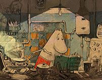Moominmamma`s birthday