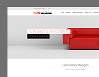 Bon Interior Design - Website Design