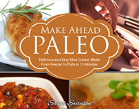 Make Ahead Paleo | Ebook Cover Design