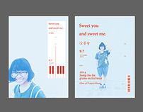 practice/JiaJia's PIANO RECITAL TOUR poster design