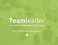 Teamleader app redesign