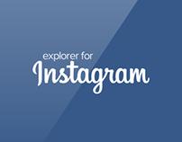 Explorer for Instagram Beta