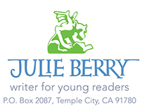 Business Stationery for author Julie Berry