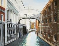 Bridge of Sighs: Venice, Italy