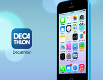 Decathlon app partial facelift