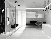 modern house ~ bathroom minimal design