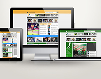 http://www.bgsport.bg/ Website and Logo Redesign