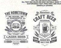 Beer Festival T-Shirt Design Template
