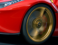 Ferrari LaFerrari CGI
