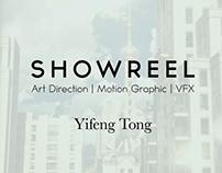 SHOWREEL   Yifeng Tong (2009-2018)