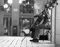 The Arcade Cellist
