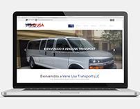 Diseño Web - Vene Usa Transport