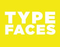 TYPEFACES // a font catalogue