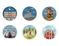 Harry Potter Location Icons