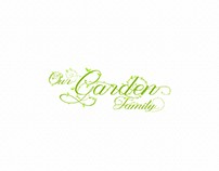 Our Family Garden Logo Design