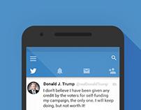Twitter - Material Design