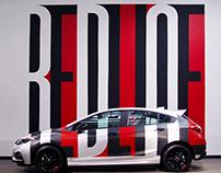 Chevrolet Redline Mural