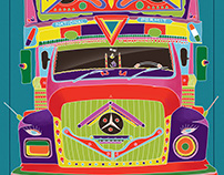 Indian Truck Art - Society6