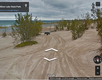 Silver Lake State Park Google Maps Imagery