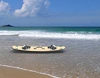 2'RIDE - The amphibious board (surf & skate)