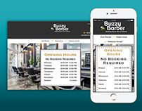 Buzzy Barber - Homepage
