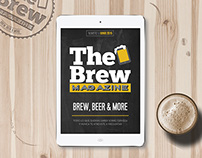 THE BREW MAGAZINE /App prototype