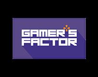 Gamer's Factor Web Site Logo