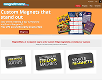 Magnet Mama E-Commerce Site