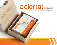 Acierta Software · Logotipo