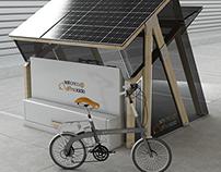 Sunride E-Bike + Solar Box