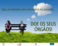 Doação de órgãos - Campanha