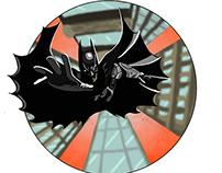 Batman T-shirt design