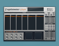UI Kit for Synthmaster Player