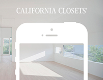 California Closets - Mobile Website