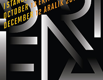 The first Istanbul Design Biennial's Poster