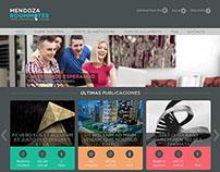 Sitio web de Mendoza Roomates