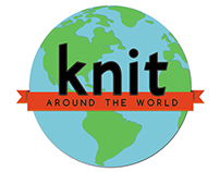 Knit Around the World logo