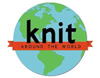 Knit Around the World logo