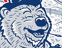 """""""Bear Necessities"""" - PBR Art Can"""