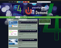 Tradeshow Web Portal: Almo E4 ProAV Tour