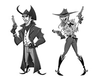 OUTLAWS SKETCHES