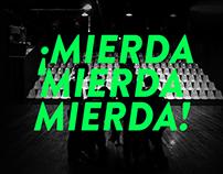 ¡MIERDA MIERDA MIERDA!